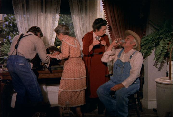 Grandpa drinking