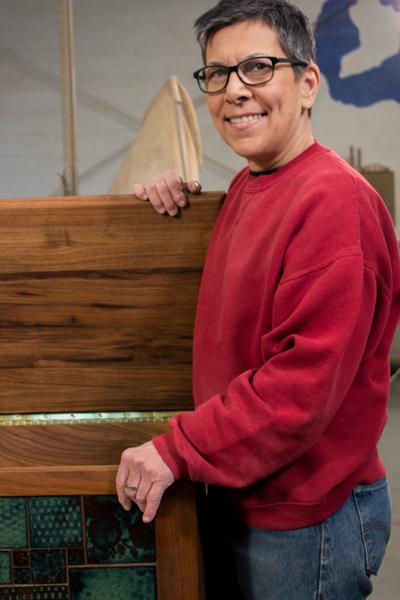 Meet Handcrafted America S Artisan Jamie Yocono Wood Tile