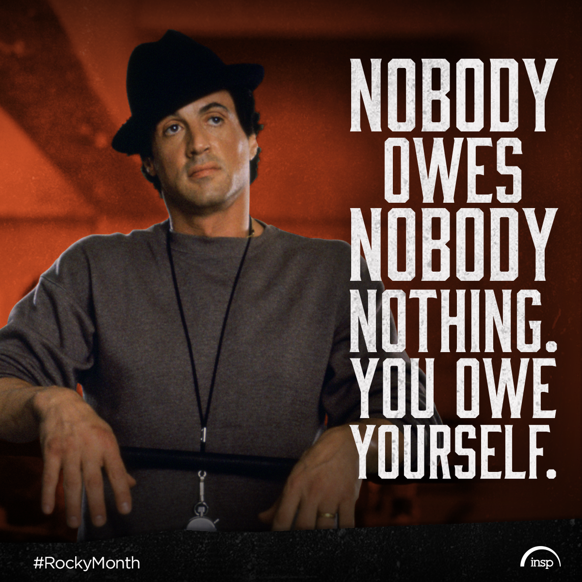 Rocky's Most Inspiring Quotes - INSP TV | TV Shows and Movies
