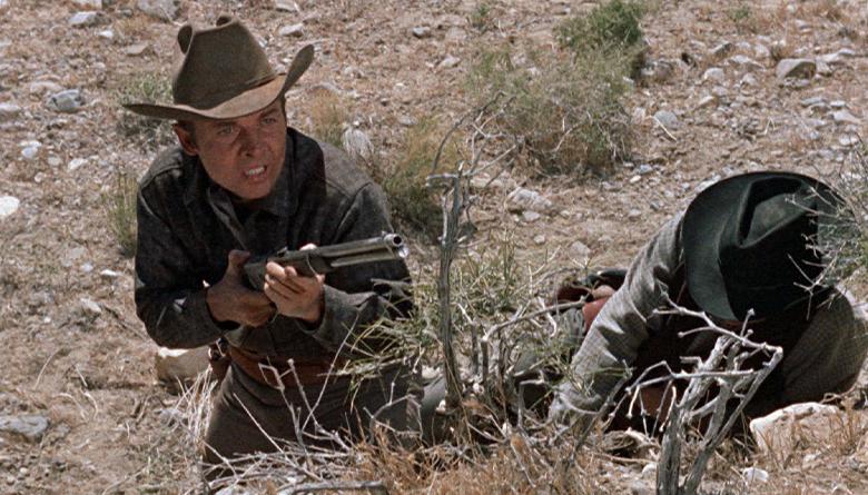 Audie Murphy in Western Film
