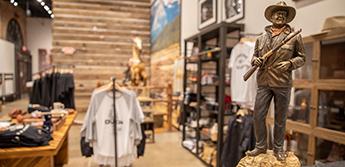 John Wayne: An American Experience Exhibit Gift Shop