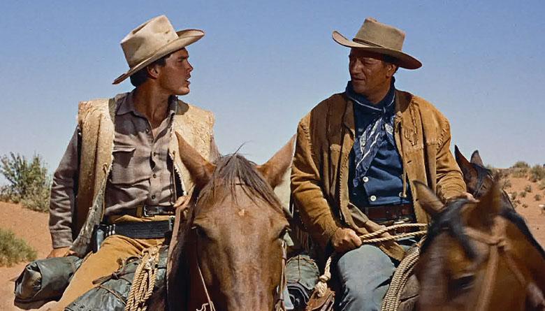 John Wayne in John Ford movie, The Searchers