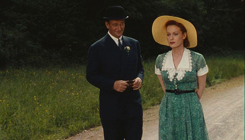 John Wayne and Maureen O'Hara in The Quiet Man, Directed by John Ford