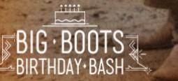 The Big Boots Birthday Bash