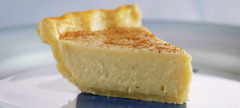 State Plate Recipe: Indiana's Sugar Cream Pie